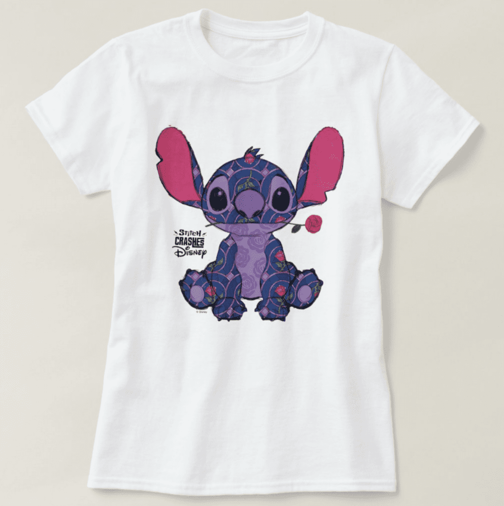Stitch Crashes Disney's Beauty and the Beast T-shirt [Source: ShopDisney]