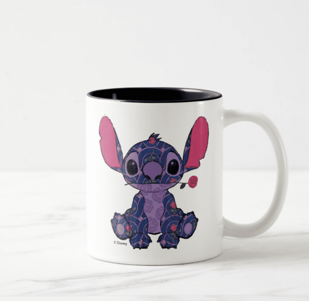 Stitch Crashes Disney's Beauty and the Beast Mug [Source: ShopDisney]