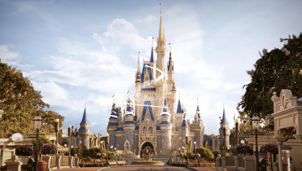Disney World 50th Anniversary Castle [Source: Disney]
