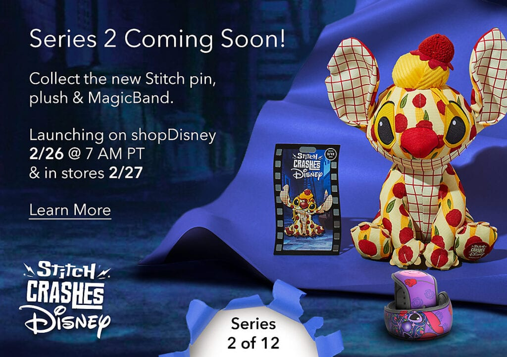 Stitch Crashes Disney's Lady and the Tramp [Source: ShopDisney]