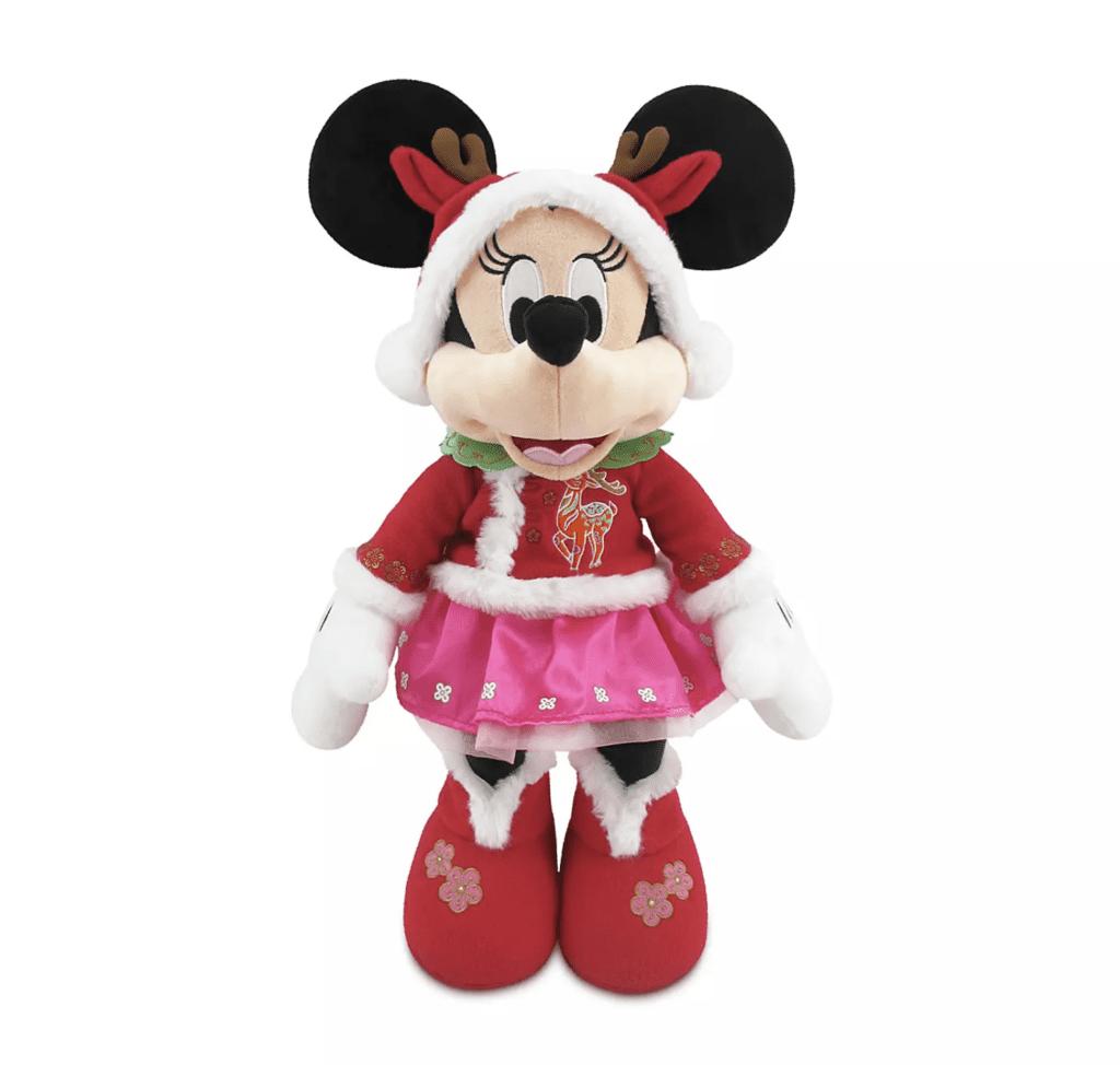 Minnie Mouse Lunar New Year 2021 Plush – Medium 17'' [Source: Shop Disney]
