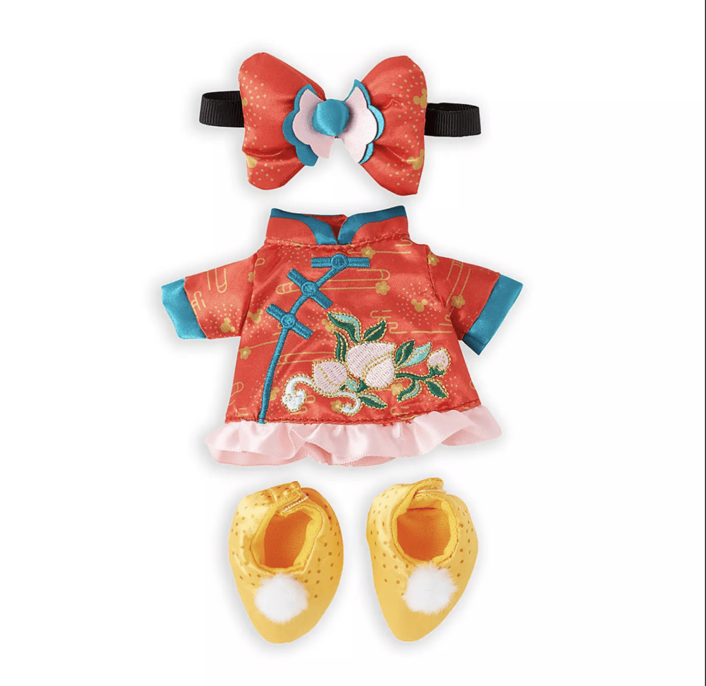 Disney nuiMOs Outfit – Chinese New Year Dress Set [Source: Shop Disney]