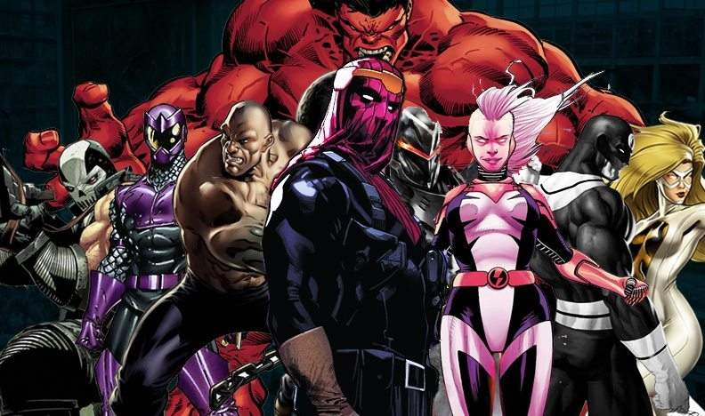 Thunderbolts from Marvel Comics [Source: MCU Exchange]