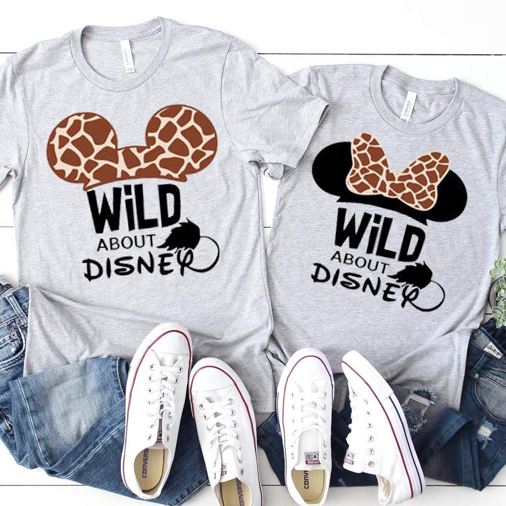 6. Disney World Animal Kingdom Family Tees