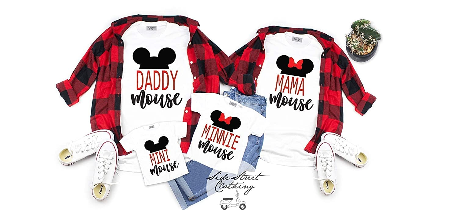 21 Best Disney Shirts for Your Family to Wear to Disney World [Source: Amazon]