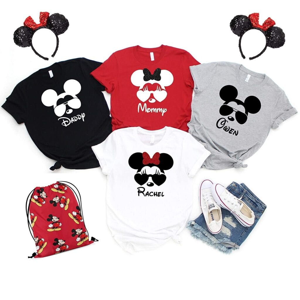 4. Cool Aviator Sunglasses Mickey/Disney Shirts