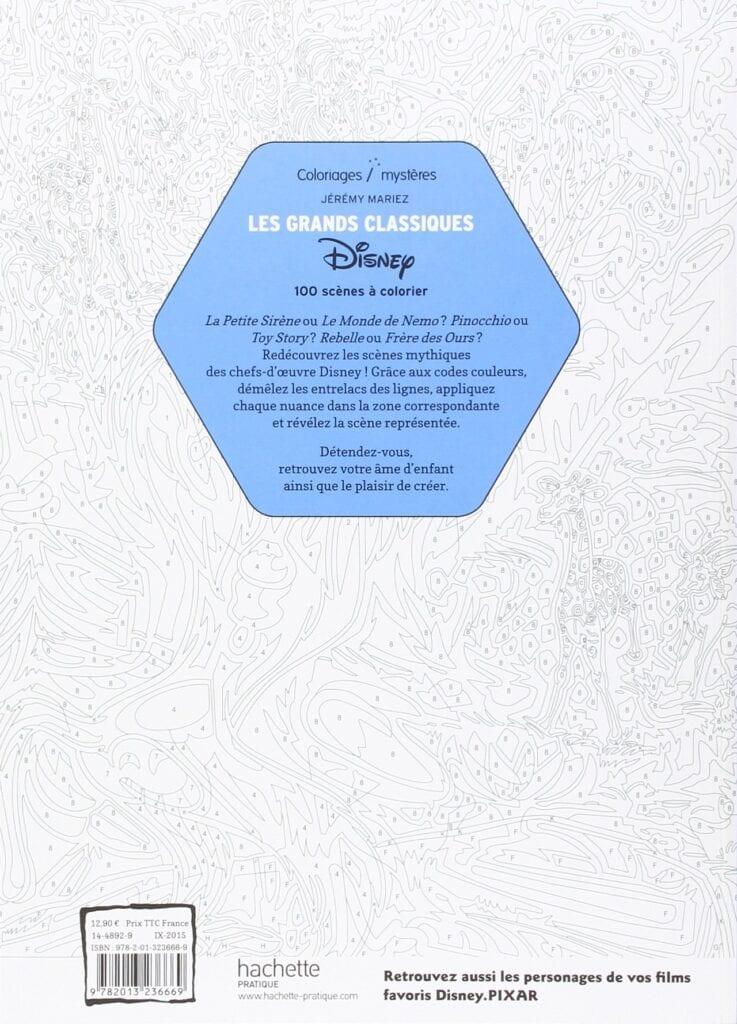 Disney Mystery Coloring Books