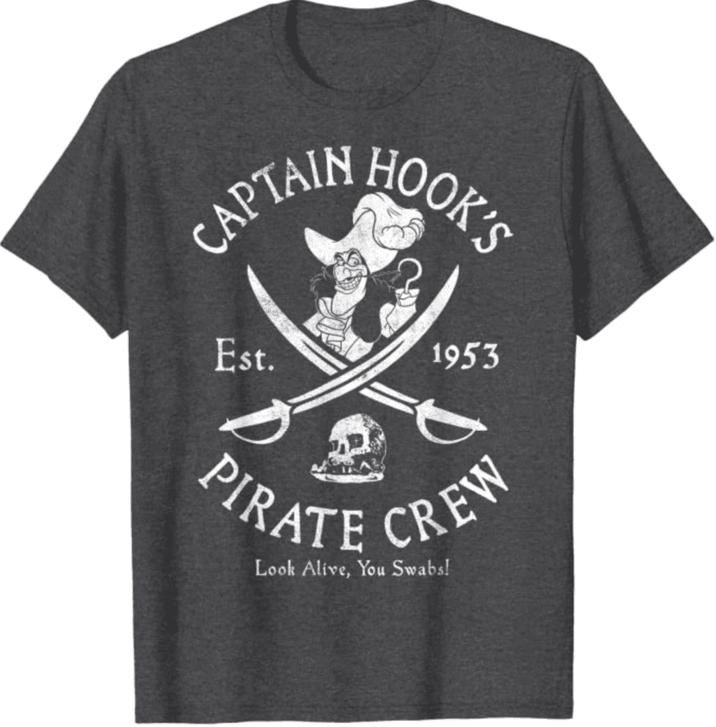 19. Captain Hook's Pirate Crew Tee