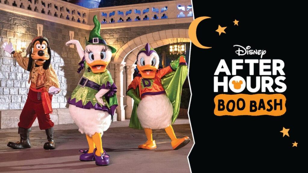 Walt Disney World Boo Bash Tickets 2021 [Source: Disney World]