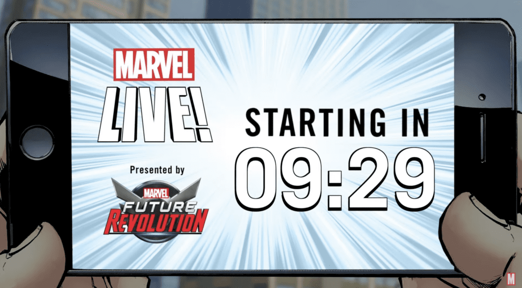 Marvel Future Revolutions Launch Video [Source: Marvel and Netmarble]