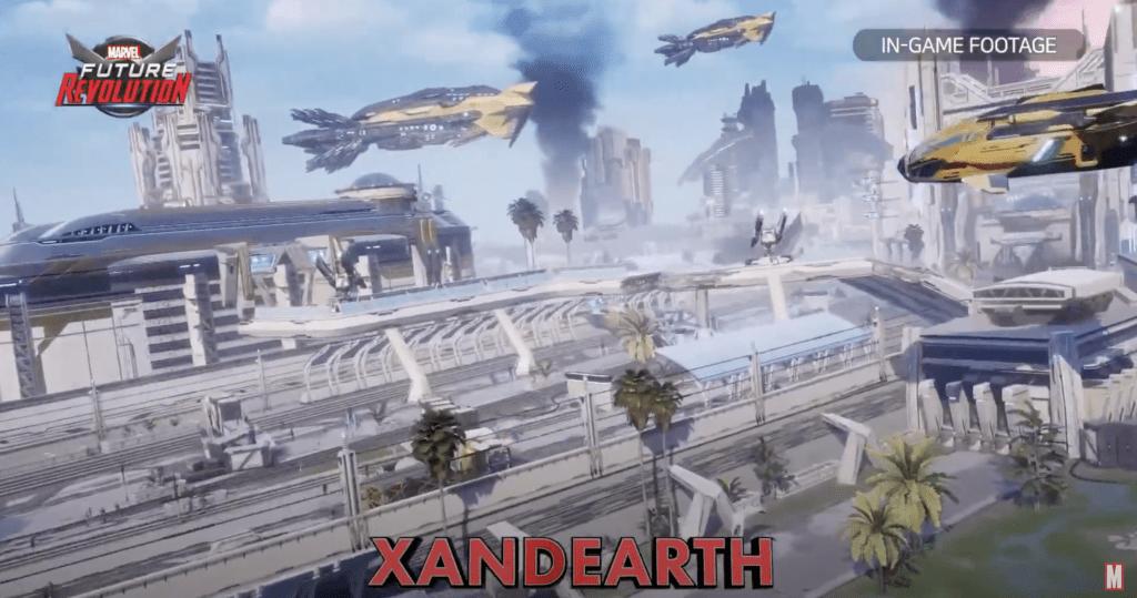 Marvel Future Revolution Gameplay Location