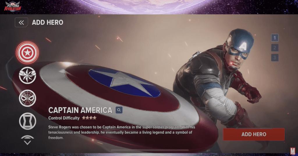 Marvel Future Revolution Gameplay Character