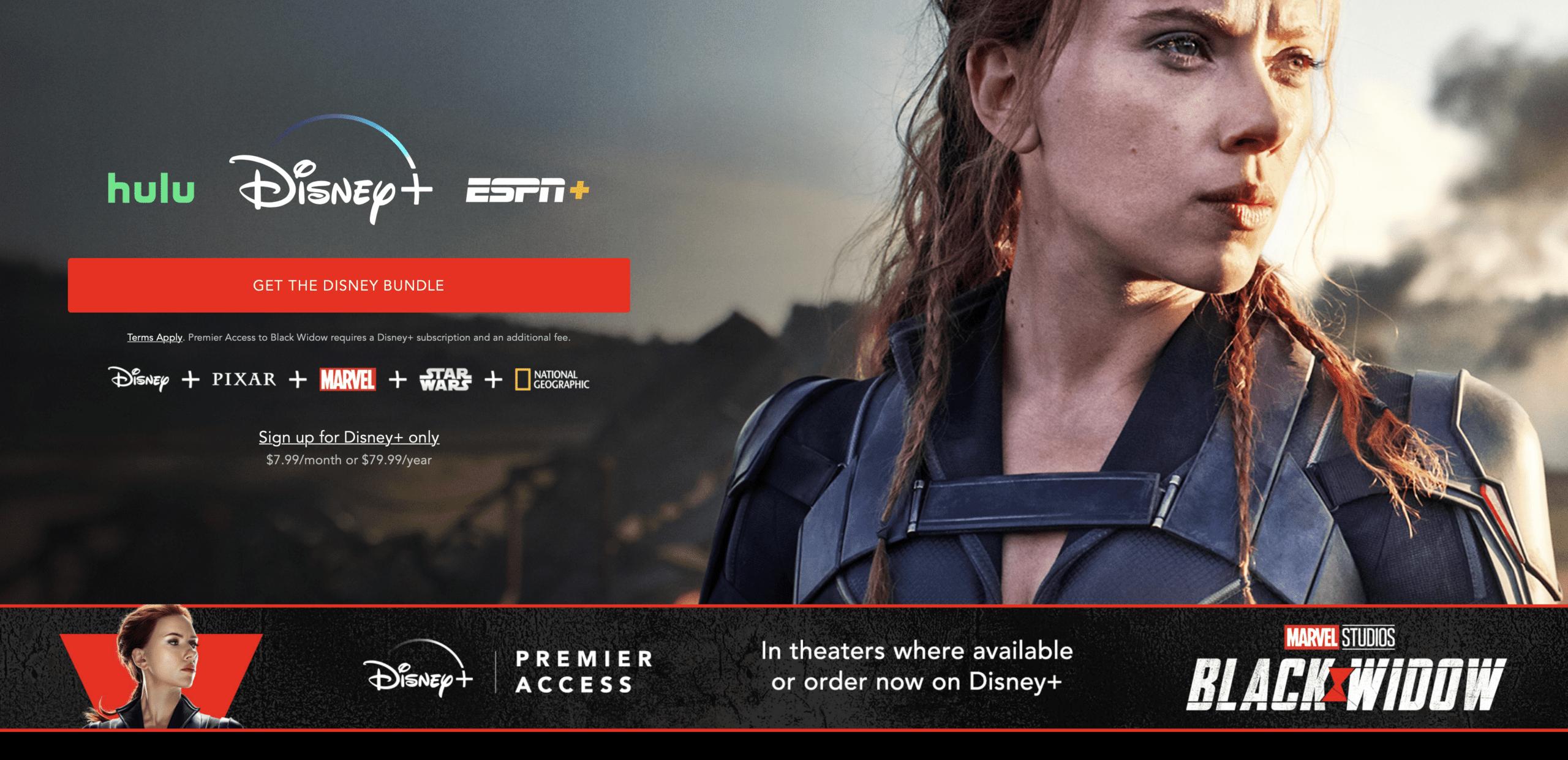 How to Watch Black Widow on Disney Plus