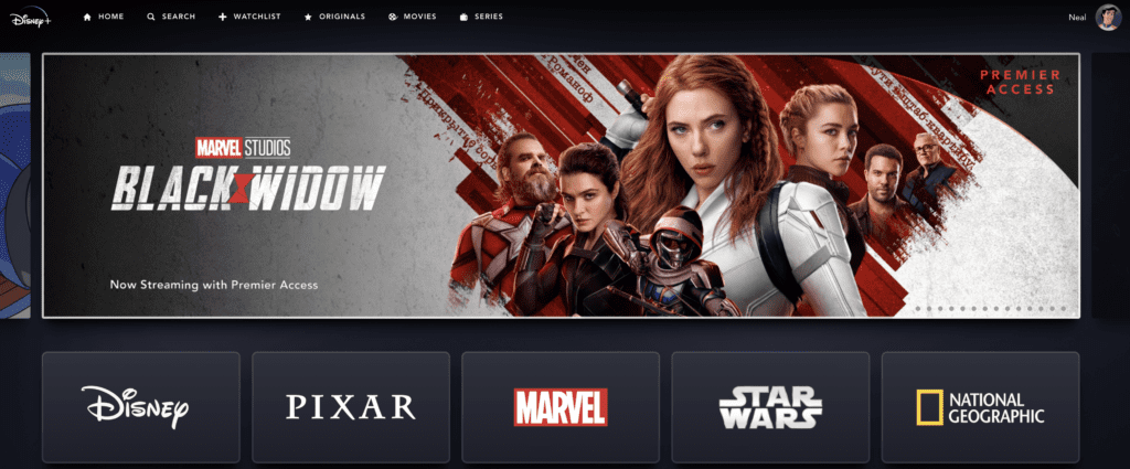 How to Order Black Widow on Disney Plus / Disney+