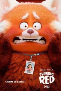 Turning Red Poster [Source: Pixar]