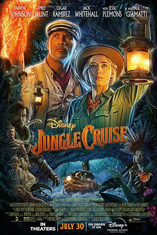 Jungle Cruise movie poster [Source: Disney]