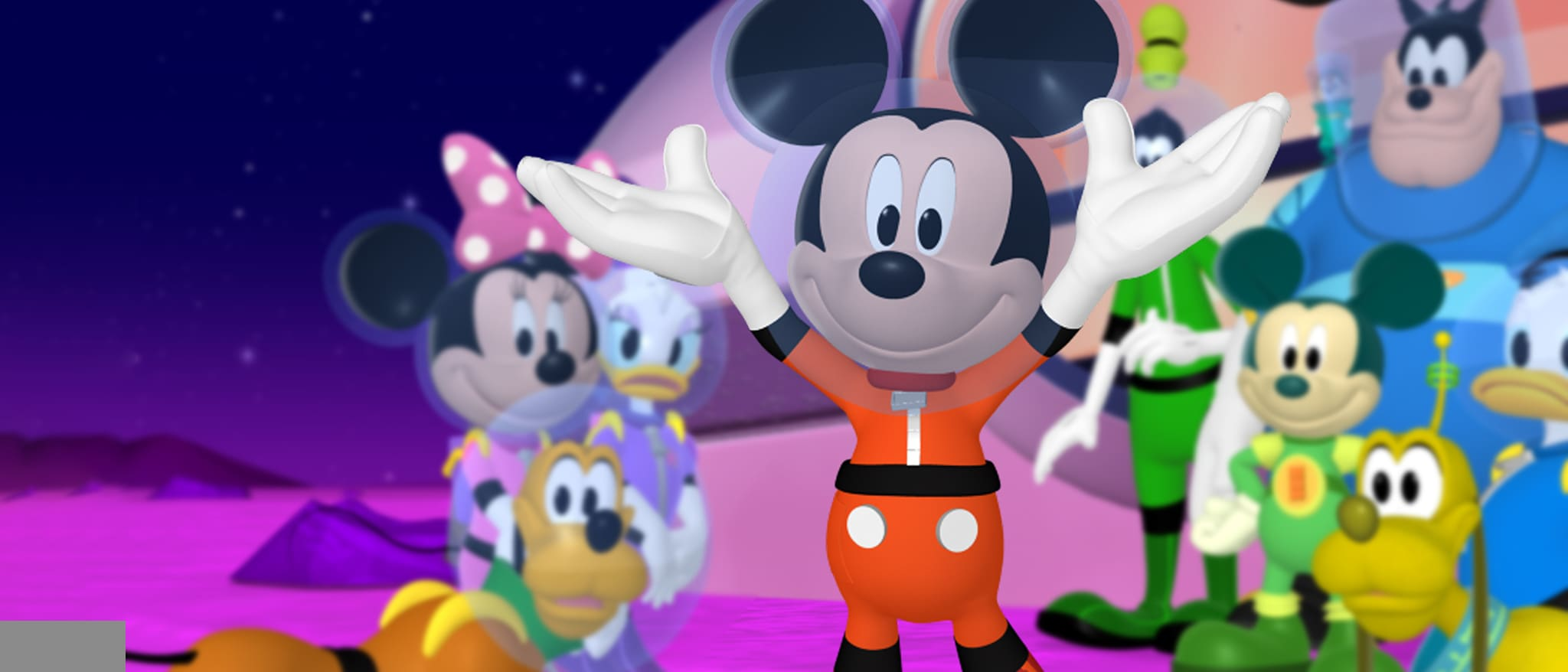 What animal is Pete from Mickey Mouse Clubhouse?