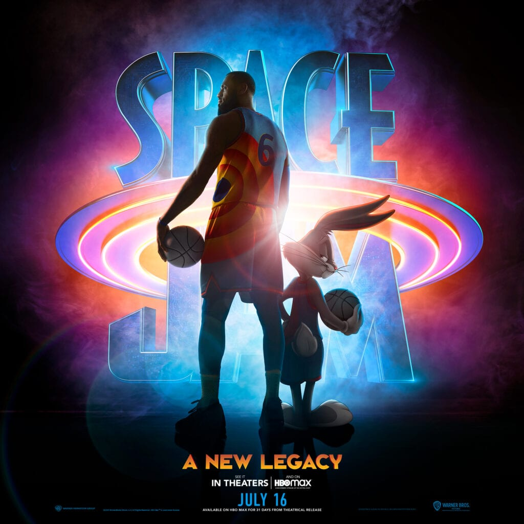 Space Jam: A New Legacy Movie Poster [Source: Warner Bros.]