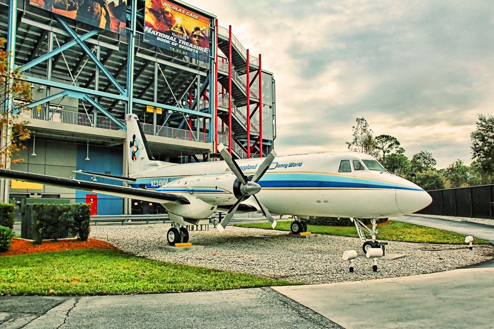 Walt Disney's Personal Airplane [Source: Joe Penniston on Flickr, Creative Commons License]