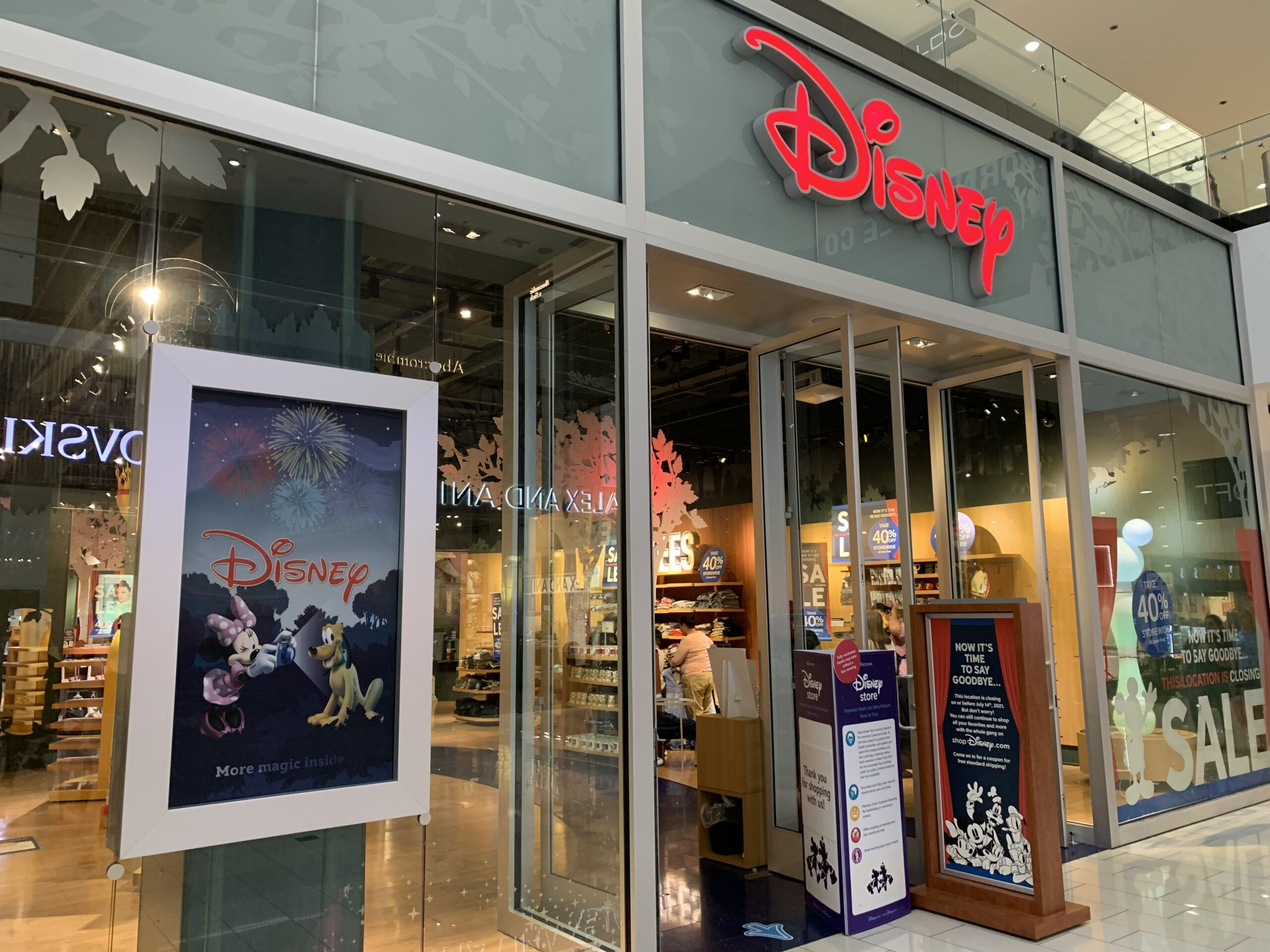 Are All Disney Stores Closing? 2021