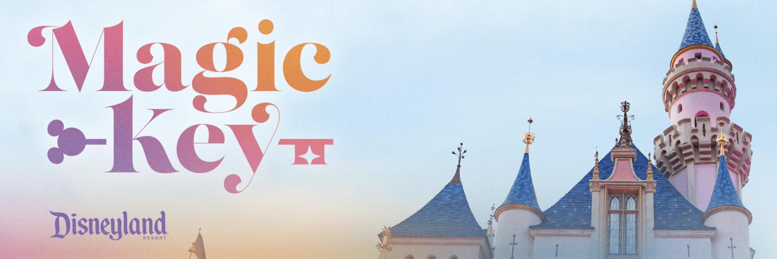 Disneyland Magic Key Annual Pass Program