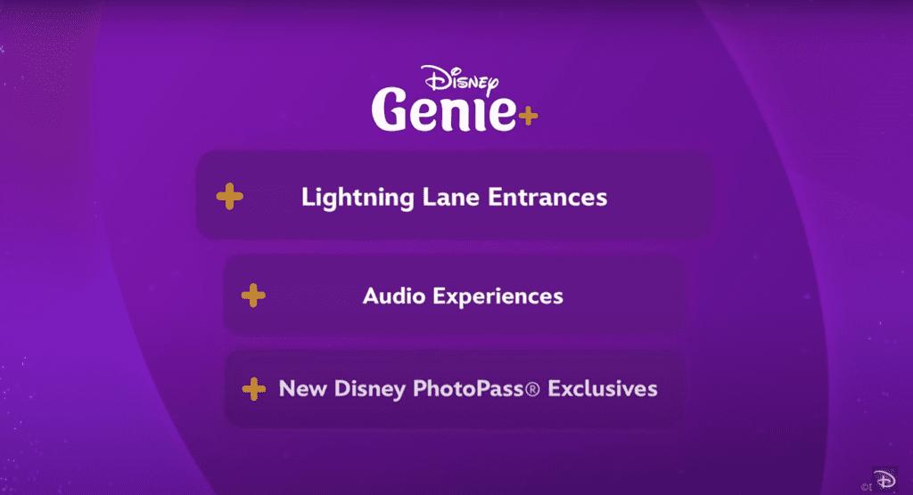 Disney Genie+ Features