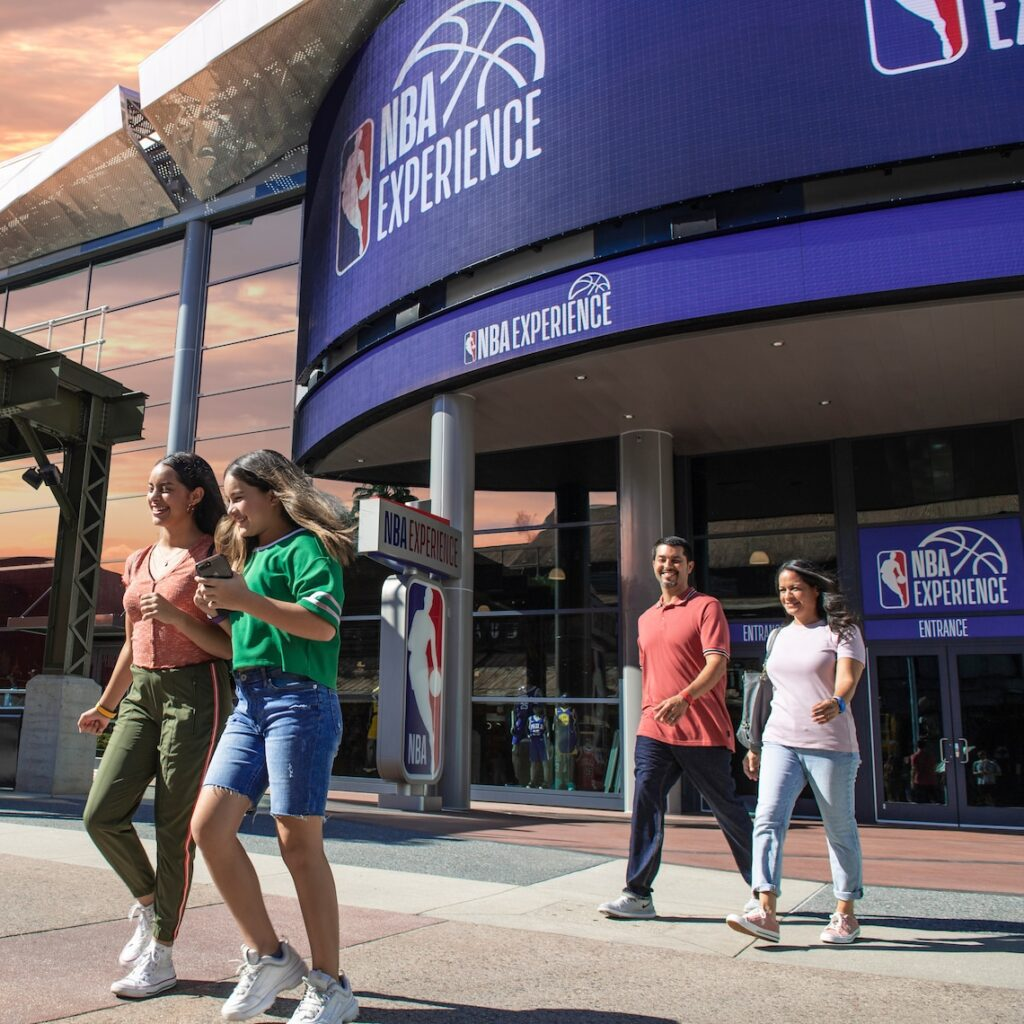 NBA Experience at Disney Springs Closed Permanently, Will Not Reopen [Source: Disney Springs]