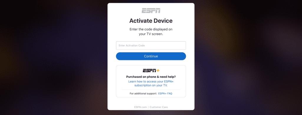 ESPN.COM/ACTIVE / DISNEY PLUS [Source: Screenshot via ESPN+]