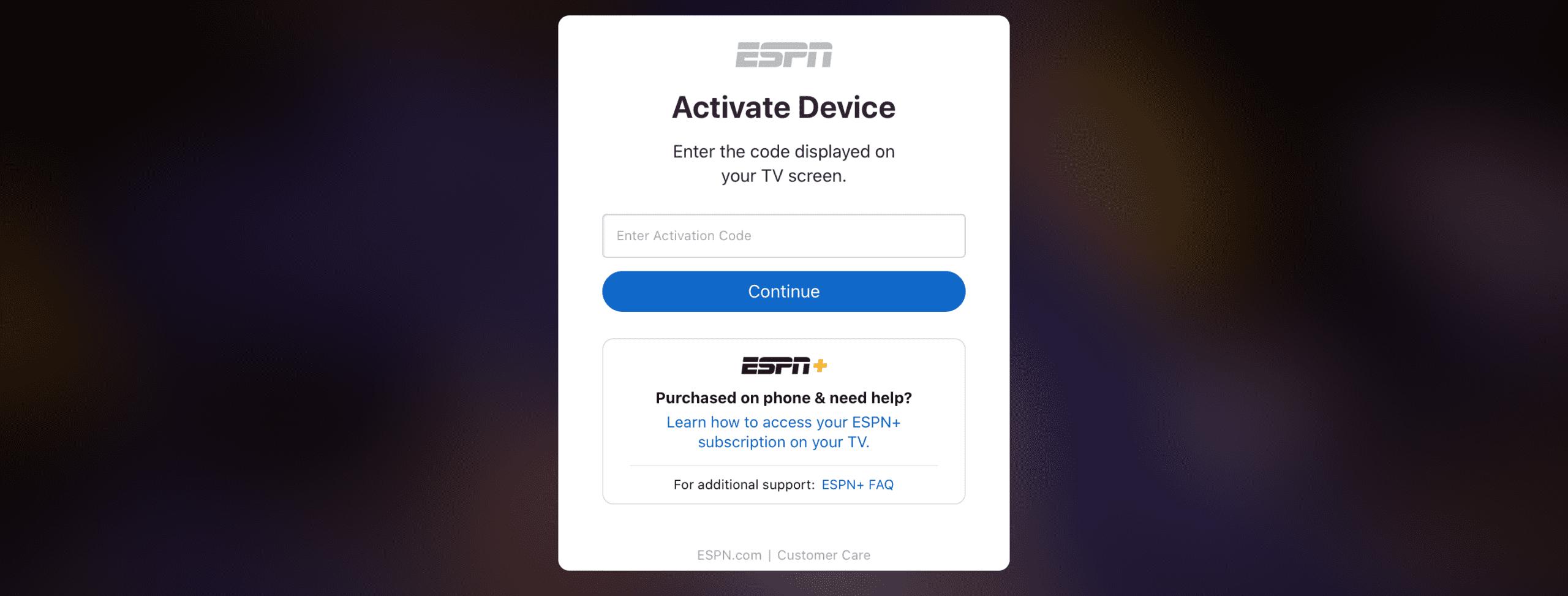 ESPN.COM/ACTIVE DISNEY PLUS