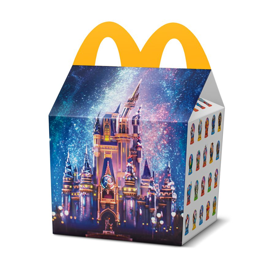 McDonald's 50th Anniversary Disney Toys Happy Meal Box Limited Edition Collector's Item [Source: Disney Parks Blog]