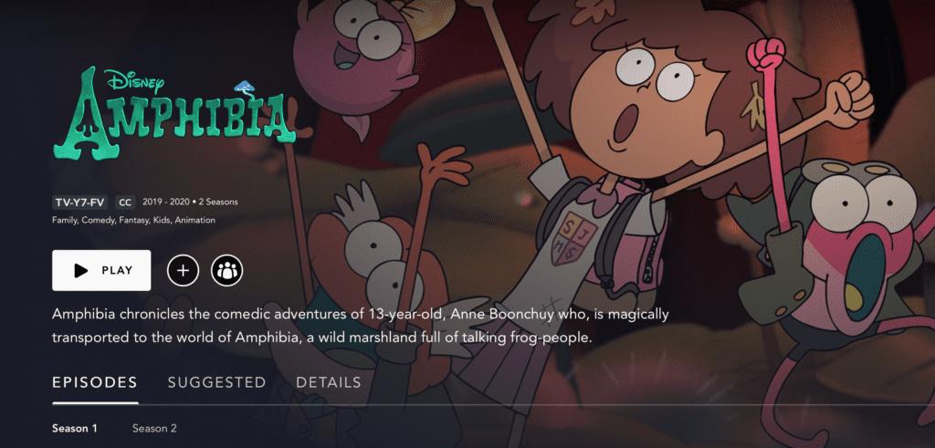 When Does Amphibia Season 3 Come Out On Disney Plus? Here's the Answer. [Source: Screenshot via Disney Plus]